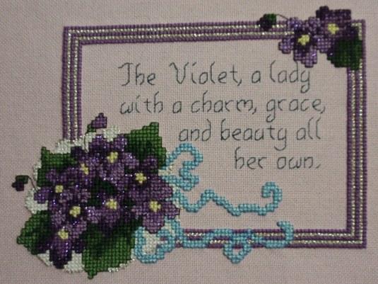 Violets Completed