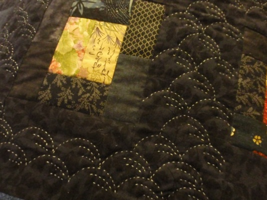 big stitch quilting sashiko 1