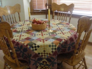 Tablecloth Quilt 2011