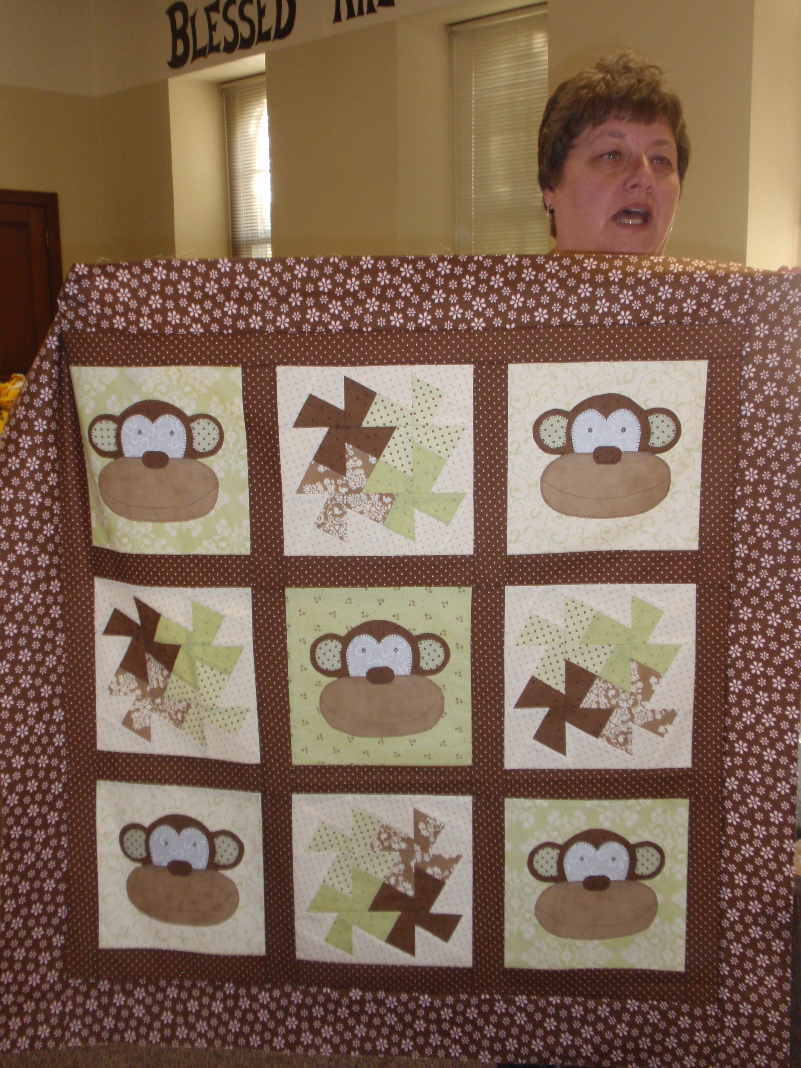 A Quilting Weekend | Averyclaire : monkey quilt pattern - Adamdwight.com