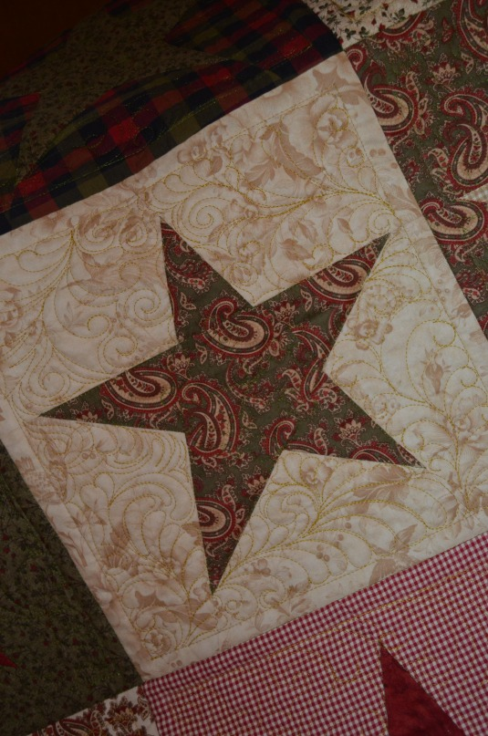 Star Quilt 2 closeup