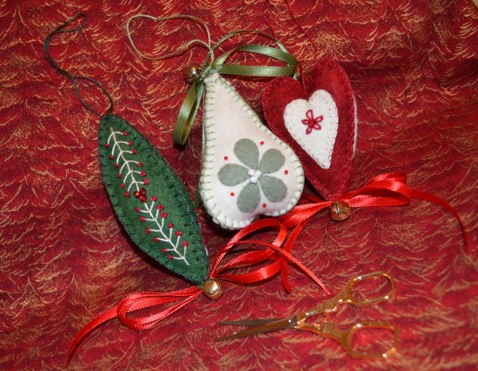 Wool Felt Ornaments 2