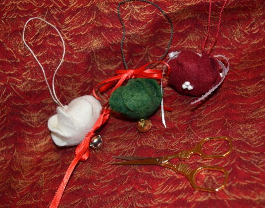 Wool Felt Ornaments 3