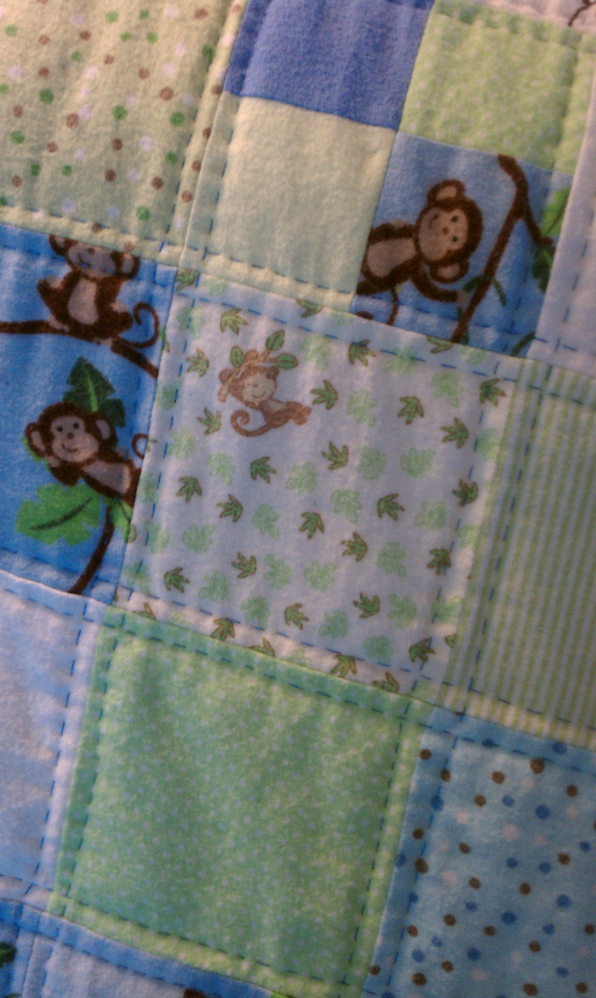 Quilts averyclaire imag0160 monkey quilt negle Choice Image