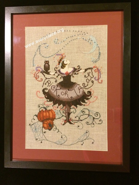 Halloween Fairy framed