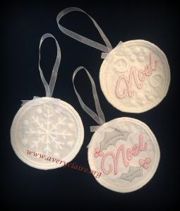 Boutis Ornaments 1