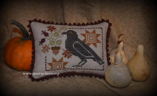 2016-PatB-Crow Pillow